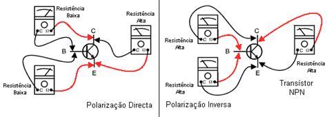 transistor npn medir testar transistores e d 237 odos esquemas electronica pt