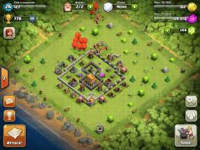 Clash of clans town hall level 5 featured base for guarding resources