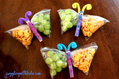 treats for toddlers butterfly snacks juggling with