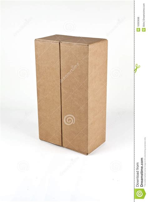 Craft Paper Box - craft paper box stock photo image of folder paper pack
