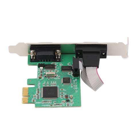 Serial 2 Port Pci Express Rs232 2port 9p M Pci E Pci Express Dual Serial Db9 Rs232 2 Ports Controller