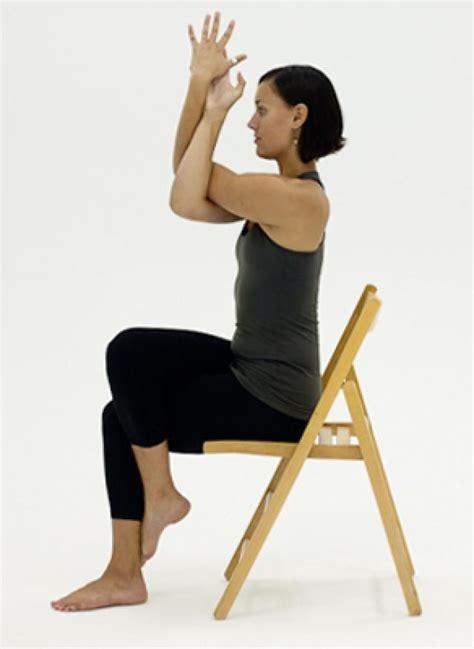armchair yoga for seniors 1000 ideas about chair yoga on pinterest yoga for