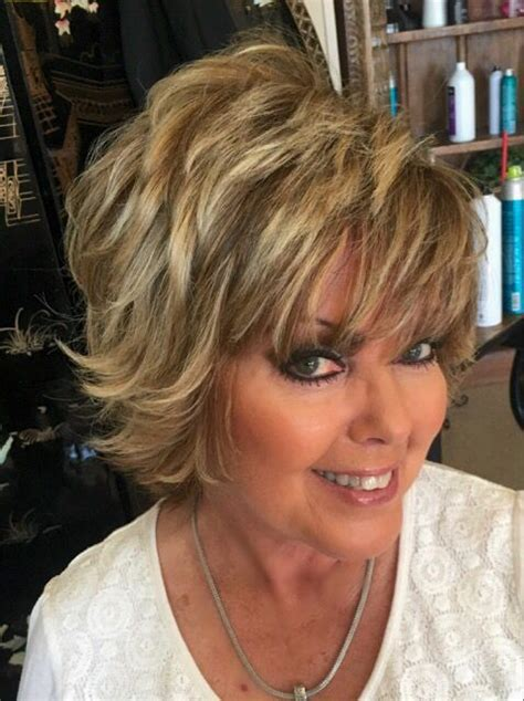 hair styles for the over 50s heavily layered into the neck 1299 best hair images on pinterest
