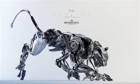 Umakuka 3d Robot Tiger 23 robot designs by vladislav ociacia creativeoverflow