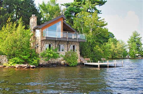 maison a vendre bord de l eau lac lovering