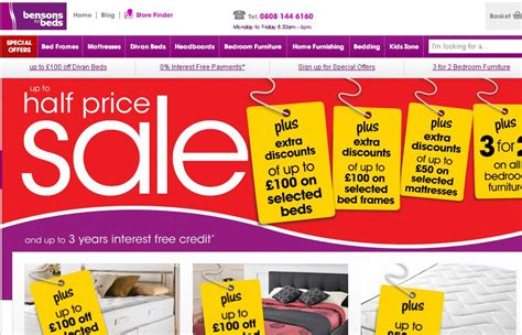 bensons for beds bensons for beds discount codes voucher codes 5 off my voucher codes