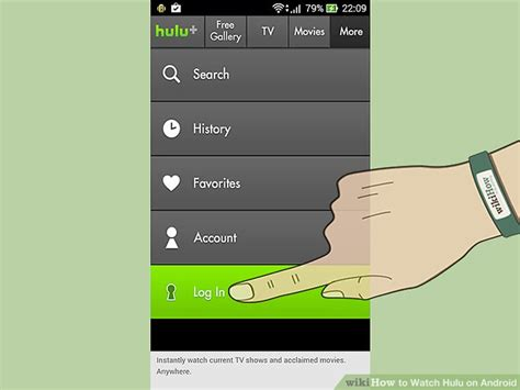 hulu android how to hulu on android 4 steps with pictures wikihow