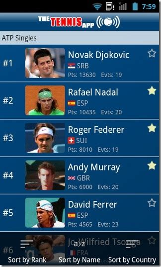 atp tennis mobile the tennis app all the tennis news scores more
