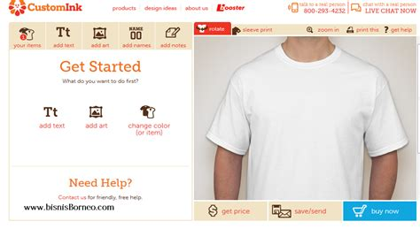 Cara Desain Kaos Online Gratis | cara desain baju online gratis bisnis borneo