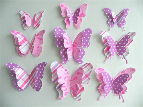 Paper Craft Butterflies - paper butterflies crafts