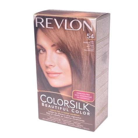 Revlon Colorsilk 54 Lgold Brown revlon colorsilk 54 light golden brown union pharmacy miami