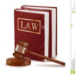 White X Bench Judge Gavel And Law Books Royalty Free Stock Image