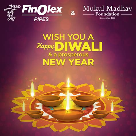 happy diwali a prosperous new year finolex industries