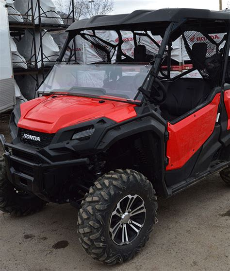 honda pioneer  windshield clearlytoughcom