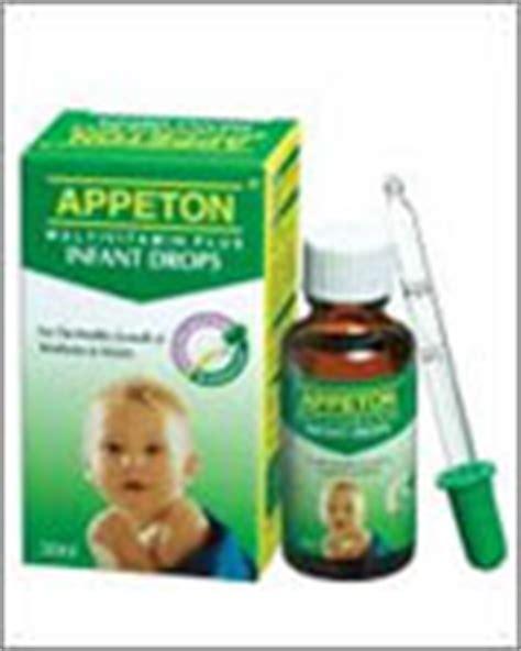 Vitamin Appeton Taurin babyshoppingspree appeton multivitamin plus infant drops