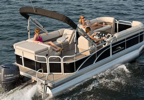 best pontoon fishing boats 2016 s series pontoon boats by bennington