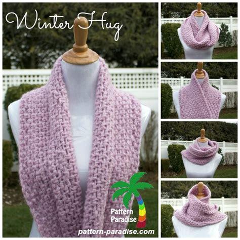 winter infinity scarf pattern wonderful diy crochet winter hug infinity scarf with free