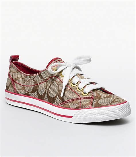 couch shoes love these coach sneakers shoes pinterest
