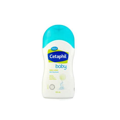 New Cetaphil Baby Daily Lotion With Sea Butter 400ml 400 Ml Exp 0119 cetaphil baby daily lotion with shea butter 400ml bb