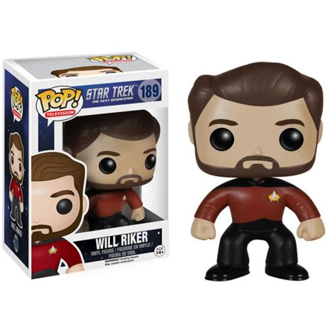 Funko Elise Pop Vinyl 5254 trek the next generation will riker pop vinyl