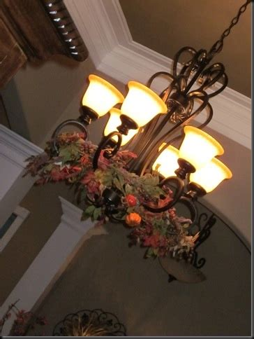 fall chandelier decorations fall decoration ideas fall chandelier home decorations