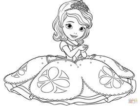 sofia the coloring page desenho de princesinha sofia para colorir desenhos para