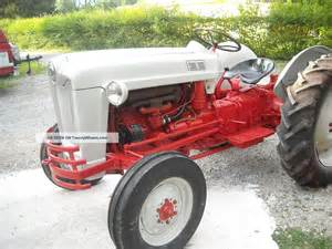 Ford Naa Ford Jubilee Naa 1954 Tractor Looks And