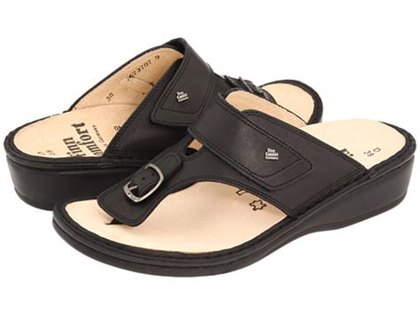 comfort finn clearance finn comfort phuket 2533 black nappa classic footbed