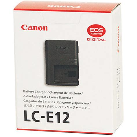Charger Canon Lc E12 For Batere Lp E12 Eos M Eos 100d canon battery charger lc e12 for battery pack lp e12 6781b001