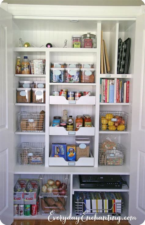 Kitchen Organization Ideas Pinterest 17 Best Ideas About Small Pantry On Pinterest Small Kitchen Pantry Small Pantry Closet And