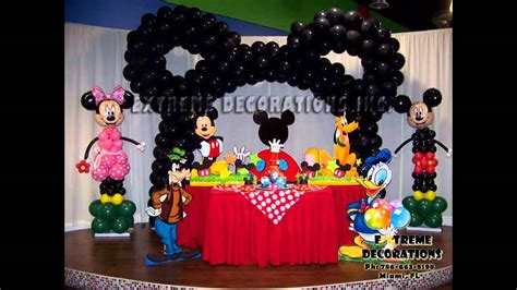 best mickey mouse clubhouse birthday decoration