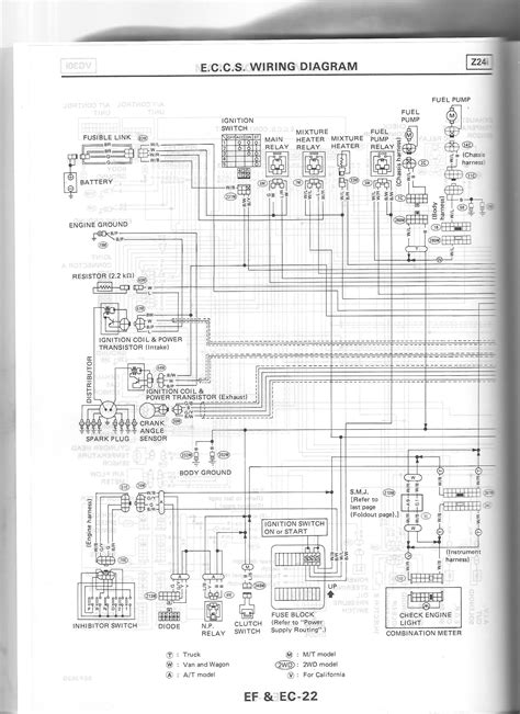 86 nissan d21 wiring diagram wiring diagram not center