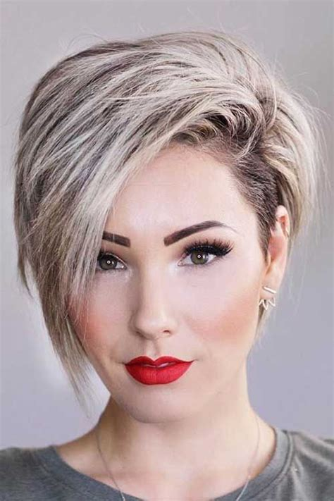 bi layer haircuts over the ears 35 best layered short haircuts for round face 2018 pixie