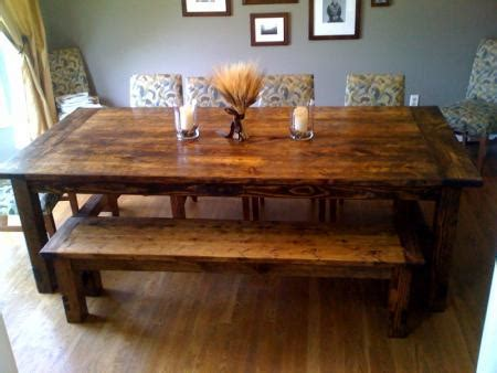 Diy Rustic Dining Room Table Kitchen Table Plans Home Design And Decor Reviews