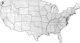 us map by state and county usa county map with county borders
