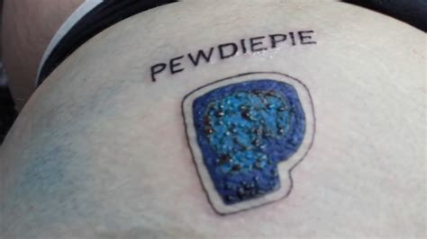pewdiepie tattoo anything4views mrmonkrage pewdiepie by