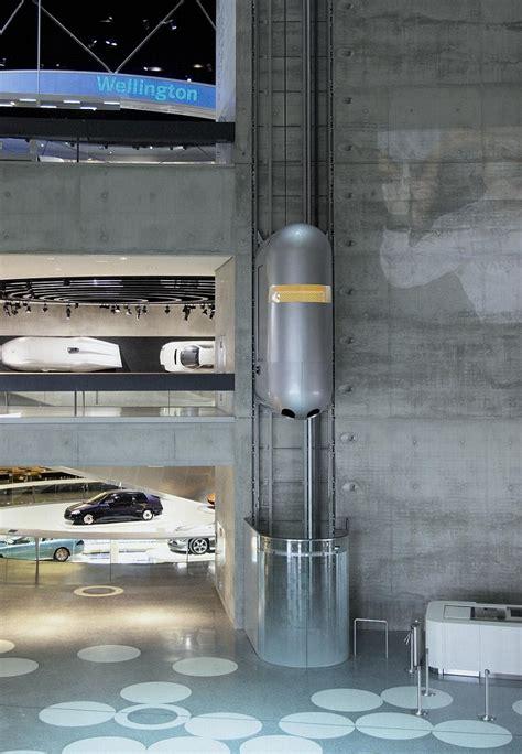 mercedes museum elevator aufzug im aufzug im mercedes museum in stuttgart