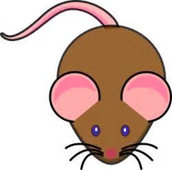 brown mouse clip art clker vector clip art