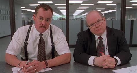 both of the bobs in office space are wearing medic alert