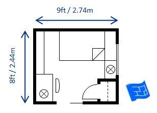 8 X 10 Bedroom Design by 9 Best Images About Bedroom Size And Layout On