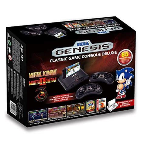 sega genesis classic console with 80 built in sega genesis deluxe classic console exclusive 85
