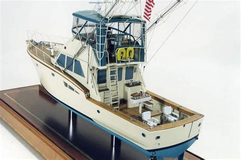 deep sea fishing boat plans deep sea fishing boat 1 48 scale model ship models