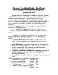 nomination letter format best template collection