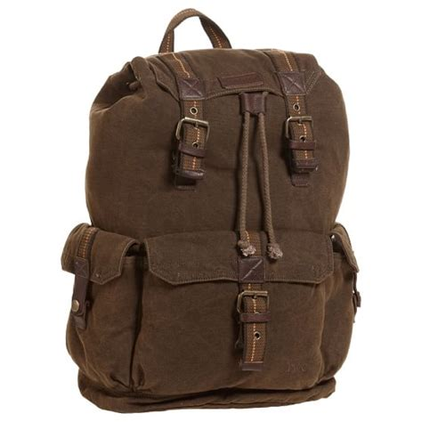 bed stu backpack brown canvas backpack by bed stu pbteen