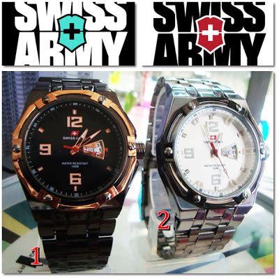 Harga Jam Tangan Merk Positif Original jam tangan swiss army 6303 kw1 hari tanggal aktif