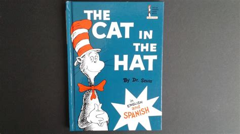 the cat in the hat in english and dr seuss books