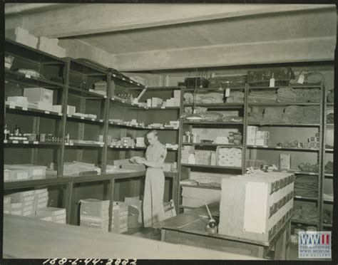 ww2 supply room tech sergeant in supply room at fort benning on 12 september 1944 the digital
