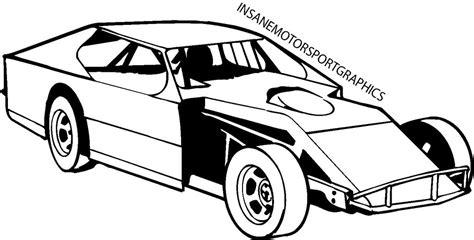 Dirt Race Car Clipart Clipartix Late Model Free Coloring Pages