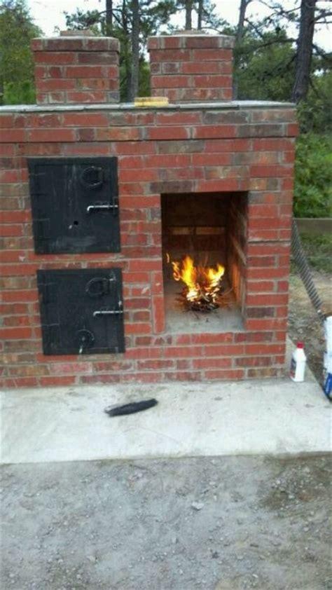 backyard brick smoker brick smoker barbecue porn low and slow baby
