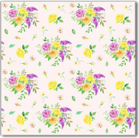 flower wall tiles flower spray pattern floral ceramic wall tile